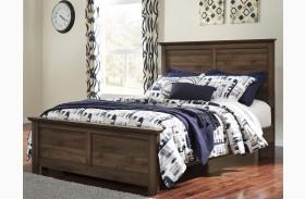 Burminson Brown Panel Bed