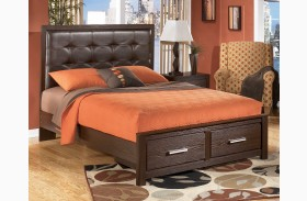 Aleydis Upholstered Platform Storage Bed