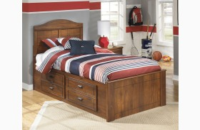 Barchan Youth Panel Bed With Underbed Storage