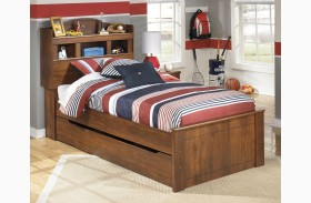Barchan Youth Bookcase Bed With Trundle