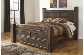 Quinden Poster Storage Bed