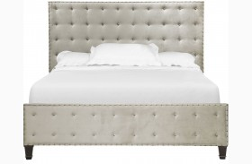 Gramercy Sable Panel Upholstered Bed