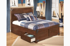 Delburne Youth Panel Storage Bed
