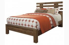 Cinrey Brown Panel Bed