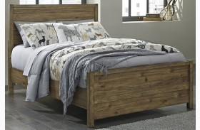 Fennison Light Brown Youth Panel Bed