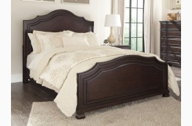 Brulind Brown Panel Bed