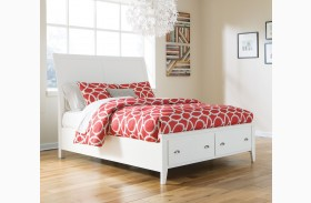 Langlor Sleigh Storage Bed