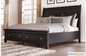 Greensburg Storage Sleigh Bed