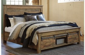 Sommerford Brown Storage Panel Bed