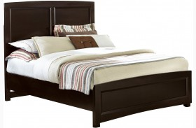 Transitions Merlot Panel Bed