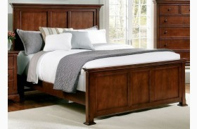 Forsyth Cherry Panel Bed