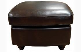 Bentley Italian Leather Ottoman