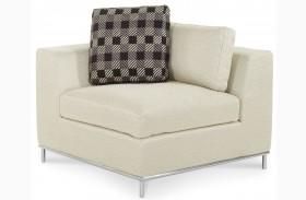 Beverly Boulevard Stainless Steel Corner Chair