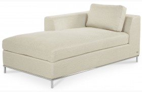 Beverly Boulevard Stainless Steel Chaise