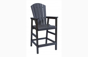 Generations Black Dining Pub Arm Chair