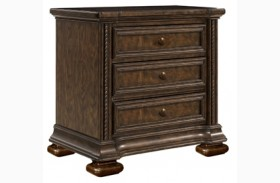 Canyon Creek Vintage Oak Finish Nightstand