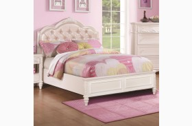 Caroline Diamond Tufted Youth Platform Bed
