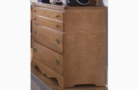 Common Sense Salem Maple Drawer Single Dresser