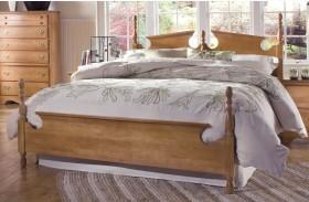 Common Sense Salem Maple Panel Bed