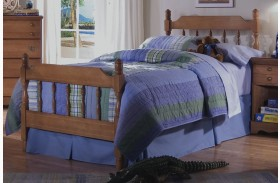 Common Sense Cherry Youth Spindle Bed
