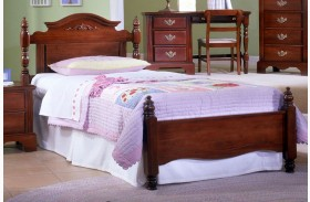 Carolina Classic Cherry Youth Panel Bed