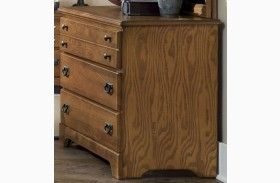 Creek Side Autumn Oak Dresser