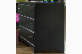 Midnight Black Drawer Dresser