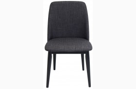 Tintori Black Finish Dining Chair