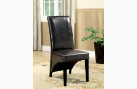 Madison Leatherette Side Chair Set of 2