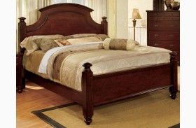 Gabrielle II Cherry Panel Bed