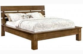 Roraima Reclaimed Pine Wood Finish Bed