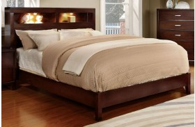 Gerico I Brown Cherry Bed