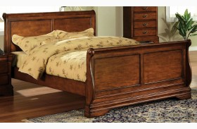 Venice Dark Oak Bed