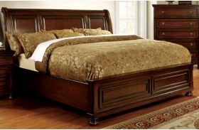 Northville Dark Cherry Finish Bed