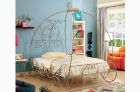 Enchant Champagne Finish Bed
