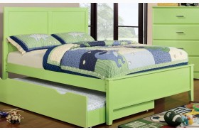 Prismo Green Youth Platform Bed