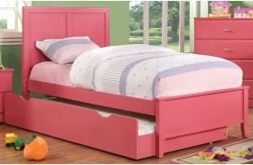 Prismo Pink Youth Platform Bed