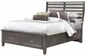 Commentary Steel Benchback Panel Storage Bed