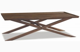 Crawford Sepia X Base Coffee Table
