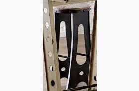 A-Frame Forge Black Finish Zen Stool