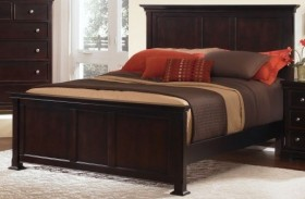 Forsyth Merlot Panel Bed