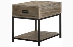 Parsons Sandalwood Drawer End Table