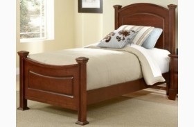 Hamilton/Franklin Cherry Youth Panel Bed