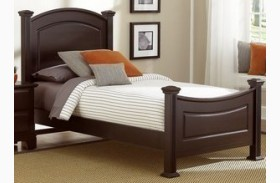 Hamilton/Franklin Merlot Youth Panel Bed