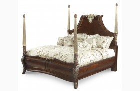 Imperial Court Panel Bed