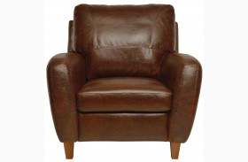 Jennifer Italian Leather Chair