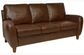 Jennifer Italian Leather Sofa