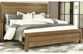 Kismet Rustic Maple Planked Bed