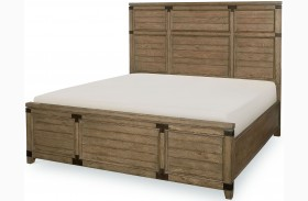 Metalworks Factory Chic Panel Bed