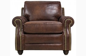Levi Italian Leather Chair